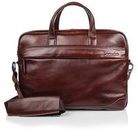 Arthur Jack Milan Messenger Bag -  brown-brown
