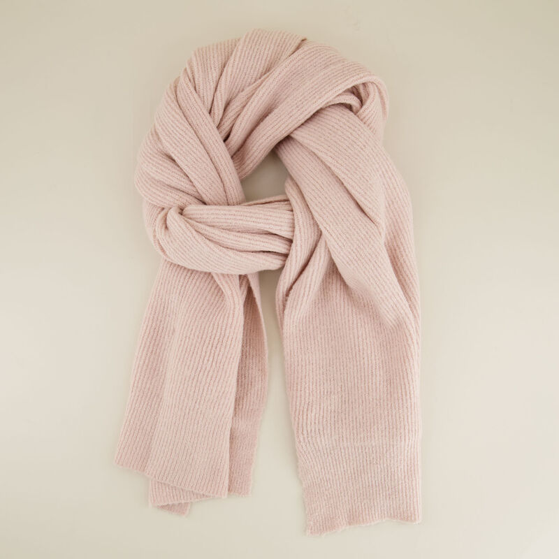 Sonia Ribbed Scarf -  c34