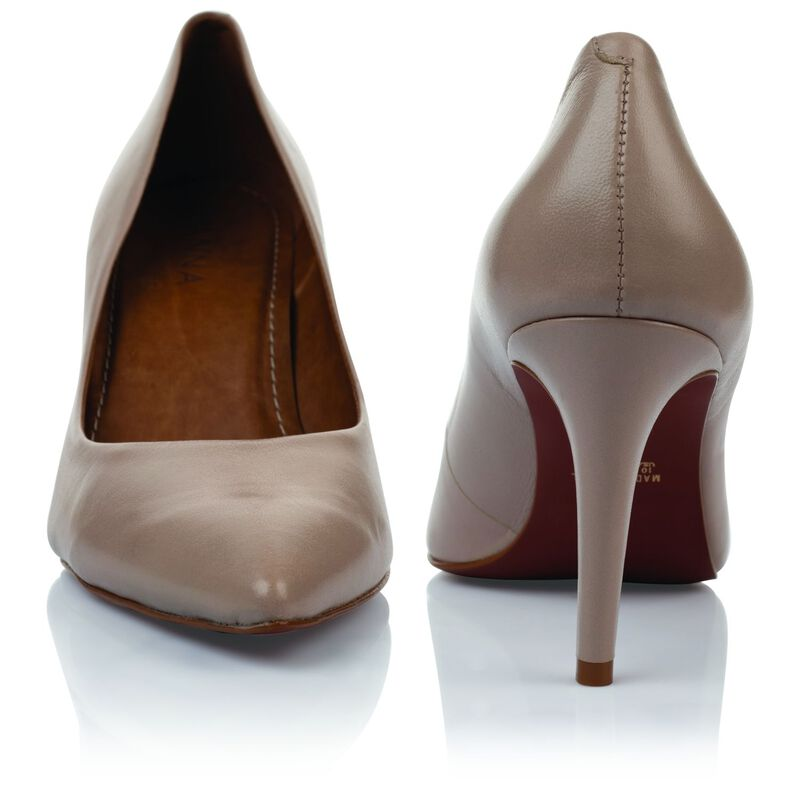 GIANNA Ladies Core Court Heel -  nude