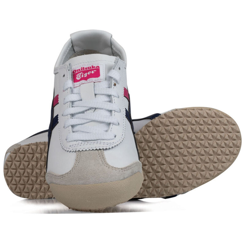 Onitsuka Ladies Tiger Mexico 66 Shoe -  white-navy