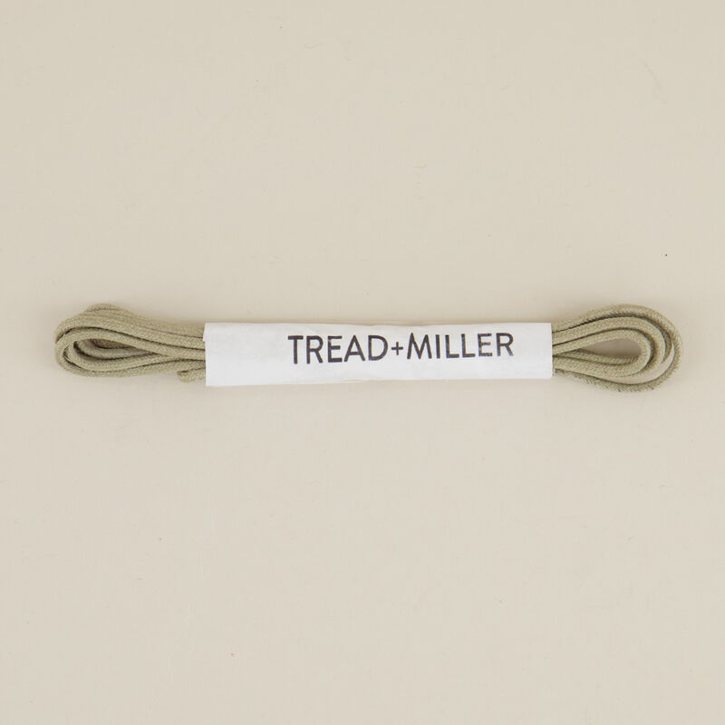 Tread & Miller Wax Cotton Shoelaces -  taupe
