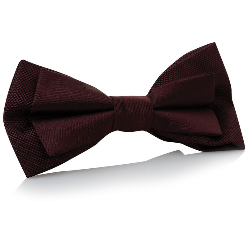 Tread & Miller Bertram Bow Tie -  burgundy