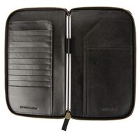 Arthur Jack Morroco Travel Wallet -  black