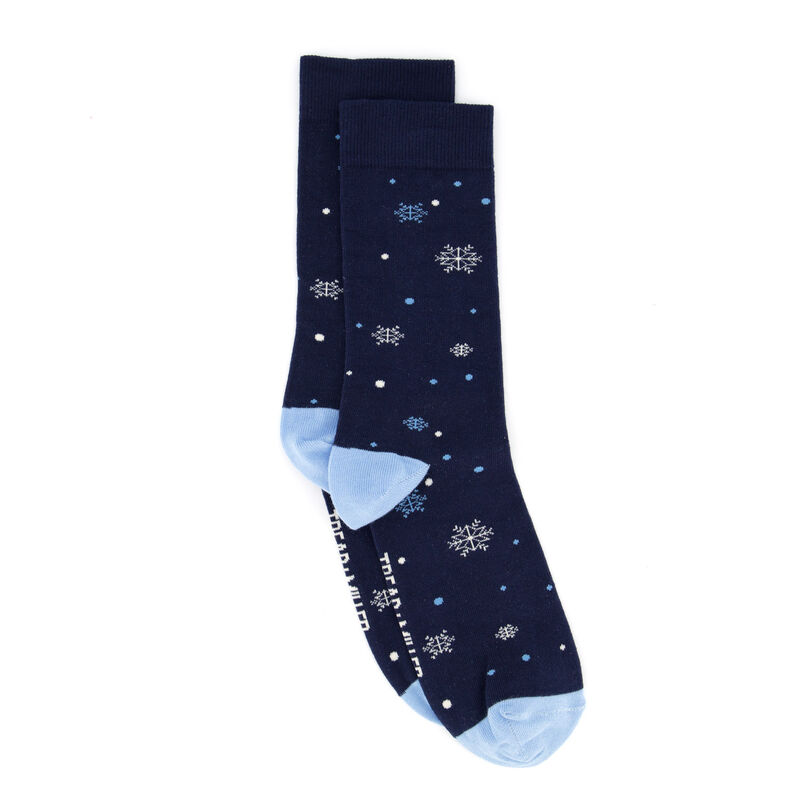 Tread + Miller Snow Flake Sock -  c57