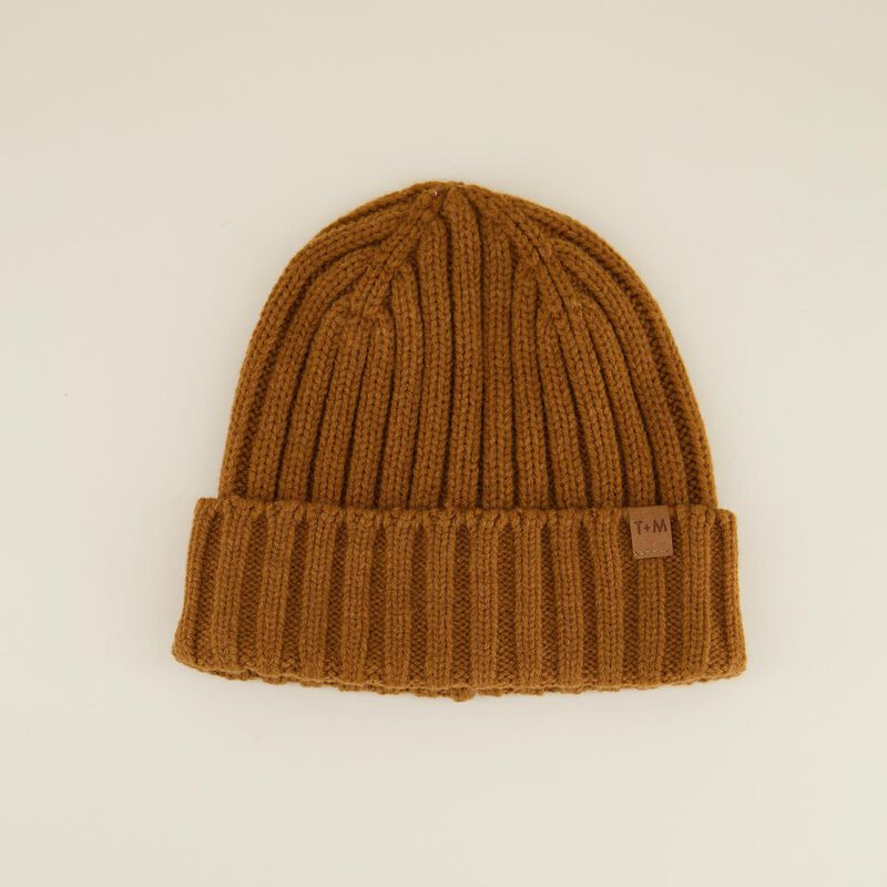 Rory Men's Ribbed Wool Beanie -  c15
