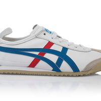 Onitsuka Tiger Ladies Mexico 66 Shoe  -  white-blue