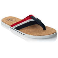 Arthur Jack Men's Reyno Sandal -  navy-red