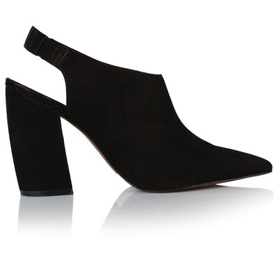 GIANNA Ladies Pointy Block Heel