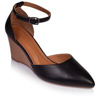 Rare Earth Ladies Karin Wedge  -  black