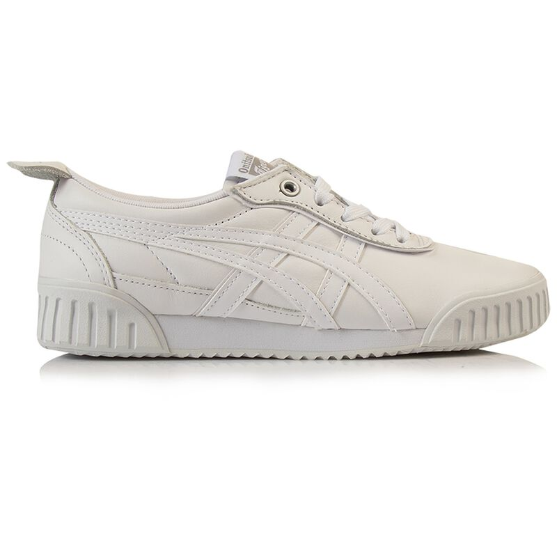 Onitsuka Tiger Ladies Delegation Sneaker -  white-white
