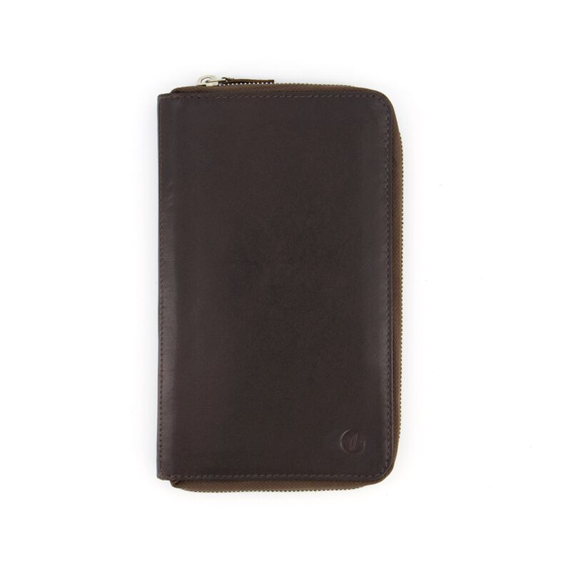 Arthur Jack Morroco Travel Wallet -  brown