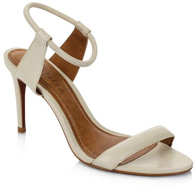 GIANNA Ladies Strappy Stretch Heel