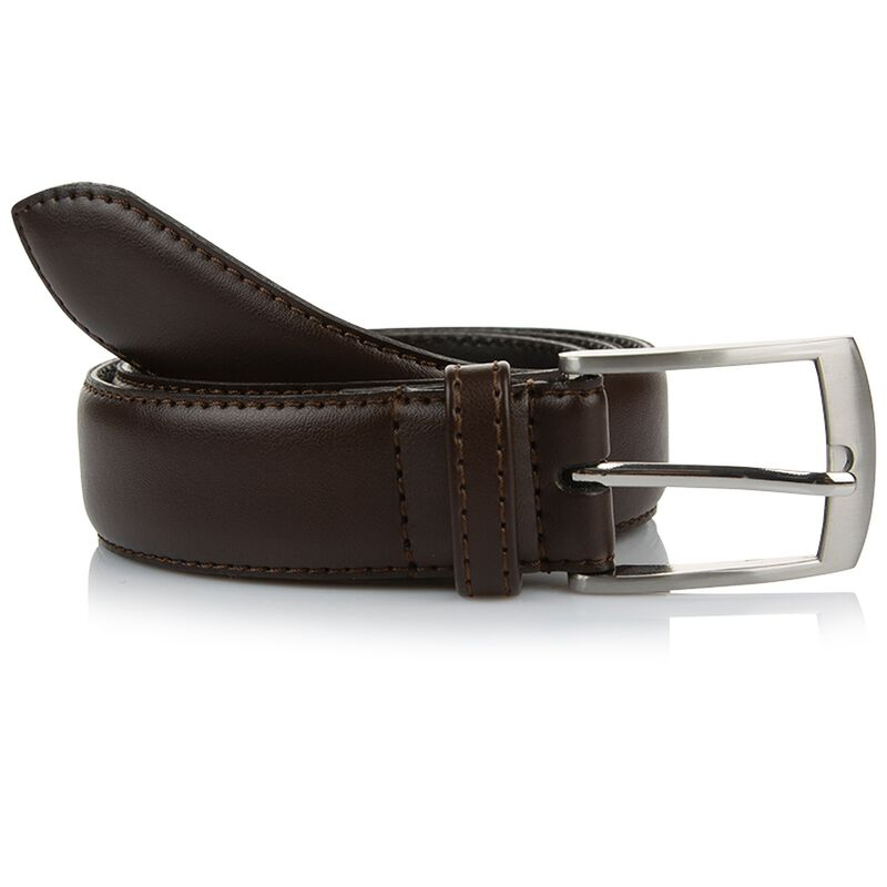 Arthur Jack Harper Leather Belt -  brown-brown