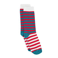Tread & Miller Tinkle Toes Sock -  lightgrey-assorted